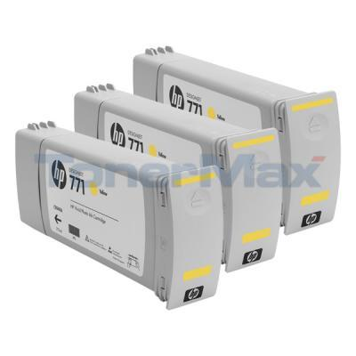 HP NO 771 DESIGNJET INK CART YELLOW